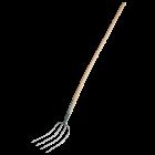 Manure fork, 4 teeth