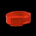 10 bracelets de marquage rouge