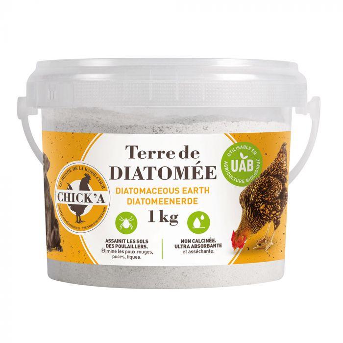 Terre de diatomée (non calcinée) 1 kg
