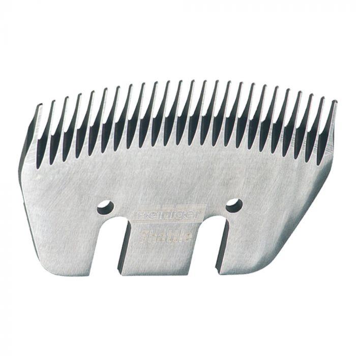 Jeu de peignes 25 et 4 dents spécial bovins