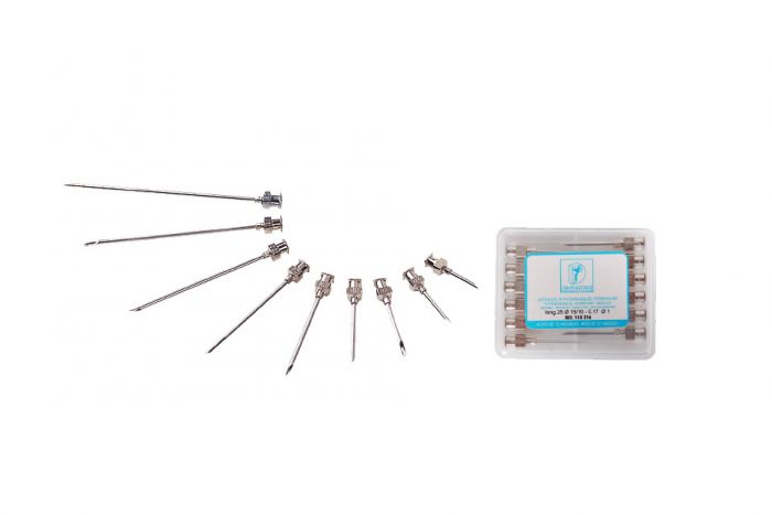 Aiguilles triple biseaux à usage multiple 25 mm/1.3 mm