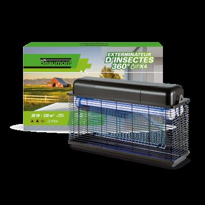 Exterminateur pour insectes 30W IPX 4 360°