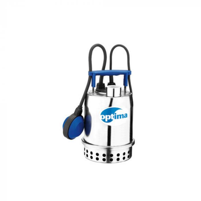 Pompe submersible pour vide cave en acier inox OPTIMA