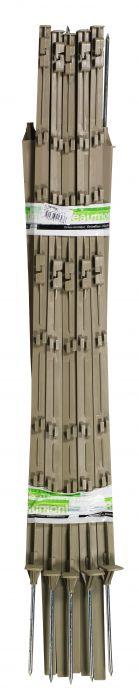 Piquet plastique nature 1.05m, palette de 600